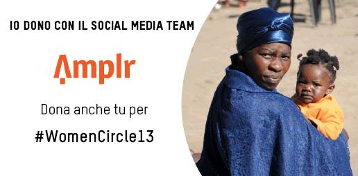 Women's Circle 2013, i social network contro la povertà