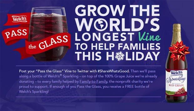 Welch's vuole creare il Vine video più lungo del mondo