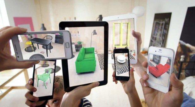 Il catalogo Ikea 2014 trasforma i prodotti in 3d