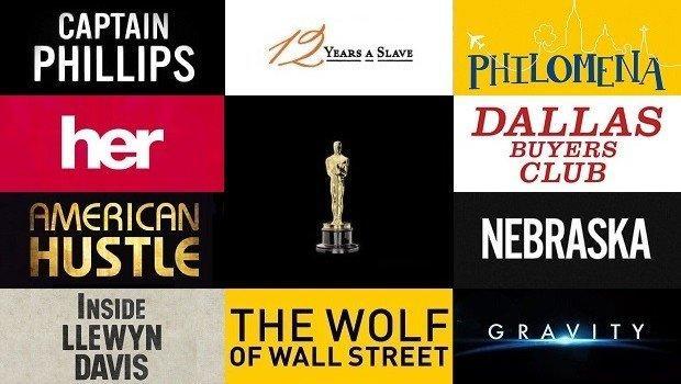 Oscar 2014: le locandine dei film si confessano