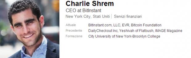 Arrestato Charlie Shrem, vicepresidente BitCoin Foundation