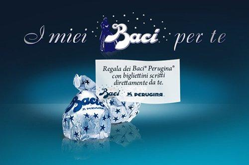 Baci Perugina lancia il sito e-commerce più romantico della rete