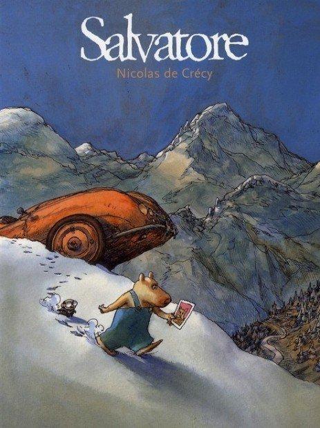 Top 10 fumetti e illustrazioni: i migliori creativi della settimana Nicolas De Crecy