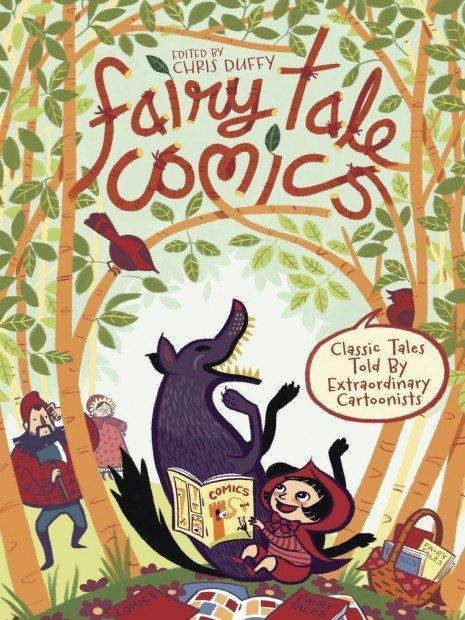 Top 10 fumetti e illustrazioni- i migliori creativi della settimana Fairy Tale Comics