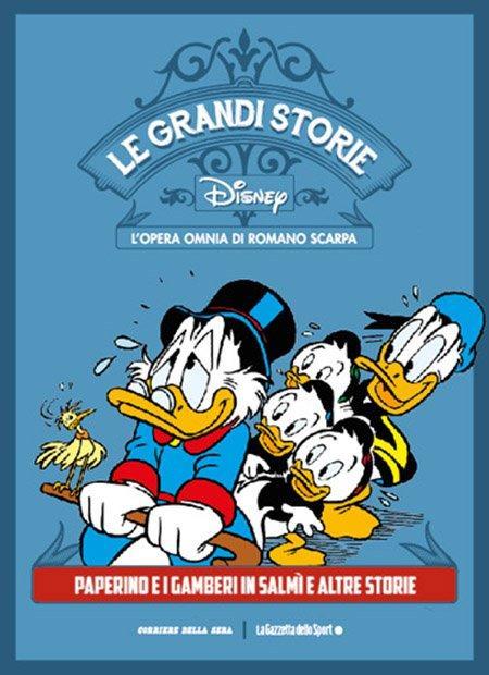 Top 10 fumetti e illustrazioni Le Grandi Storie Disney l'opera omnia di Romano Scarpa