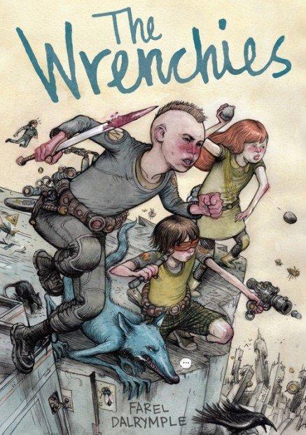 Top 10 fumetti e illustrazioni Wrenchies Cover