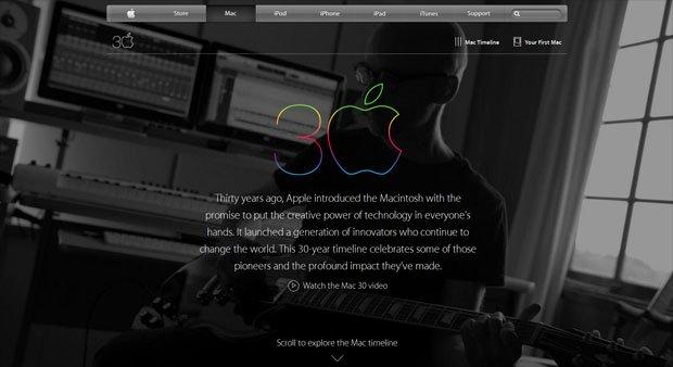Buon compleanno Mac: Apple festeggia 30 anni del suo computer [VIDEO]