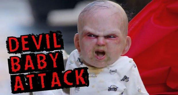 Devil Baby, di nuovo un prank per promuovere un film horror [VIDEO]
