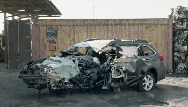 Subaru: l'auto sarà distrutta ma avrai salva la vita