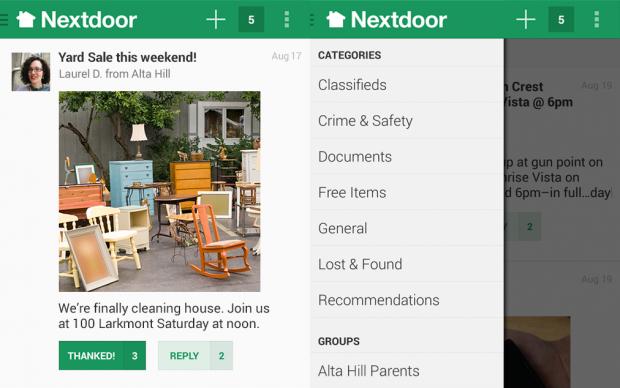 nextdoor social network