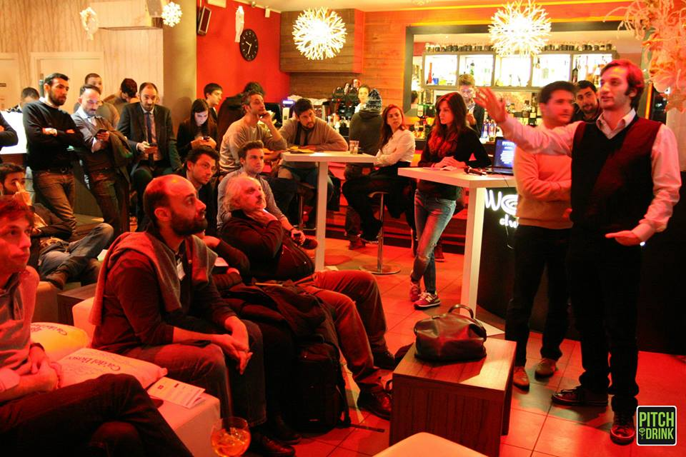Pitch & Drink: l'aperitivo tra startupper & business angel