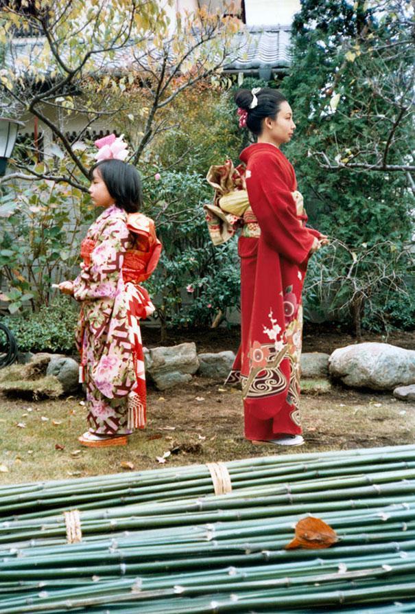 Ritorno al passato: Chino Otsuka e la fotografia che viaggia nel tempo