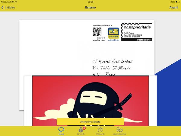 Saluti&foto: l'app delle Poste per inviare cartoline via mobile!