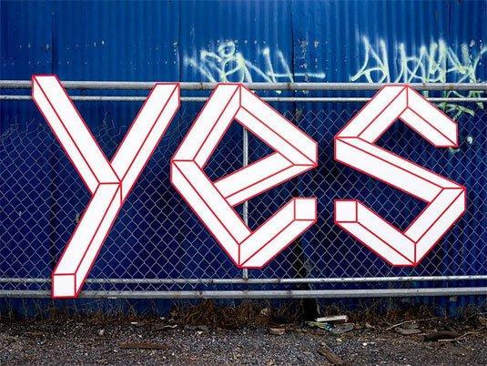 La street art diventa tridimensionale e interattiva