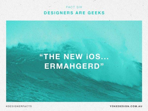 I graphic designer sono geek