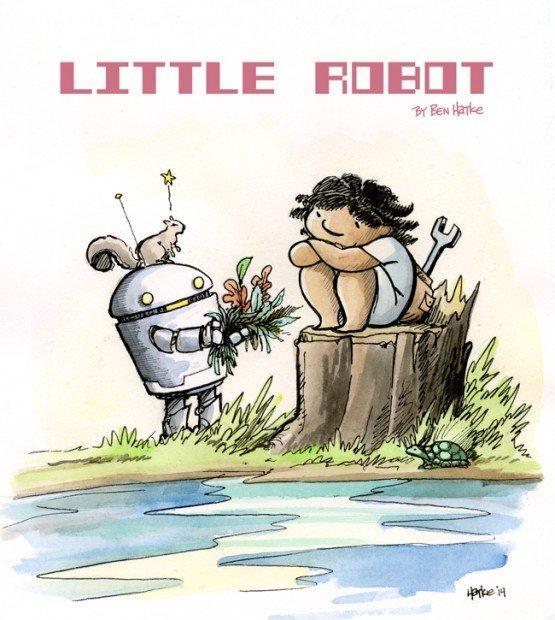Top_10_fumetti_e_illustrazioni_little_robot_Ben_Hatke