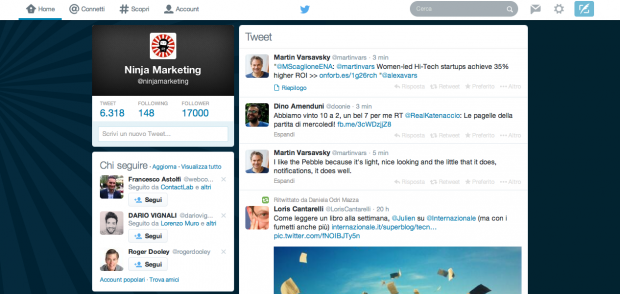 Twitter: come applicare il design dell'App
