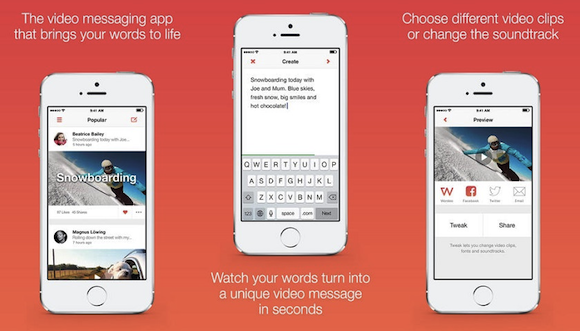 App of the Week: Wordeo, crea video dai tuoi messaggi