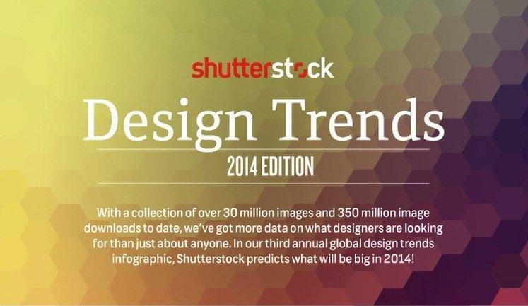 Shutterstock rivela i design trends del 2014
