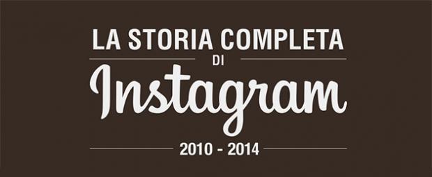 La storia di Instagram dalla sua nascita ad oggi [INFOGRAFICA]