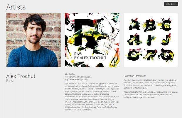 Illustratori, artisti e designer per i layout