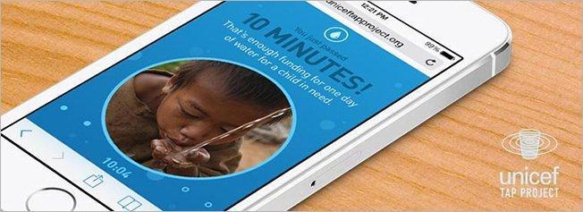 Unicef sfida tutti i mobile addicted a non controllare il cellulare per dieci minuti