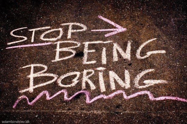 Come promuovere un brand noioso sui social network [INFOGRAFICA]