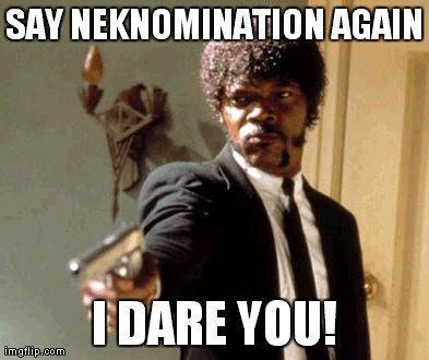 NEK Nomination, no Grazie! Cambiamo le regole del gioco con la Thanks Nomination