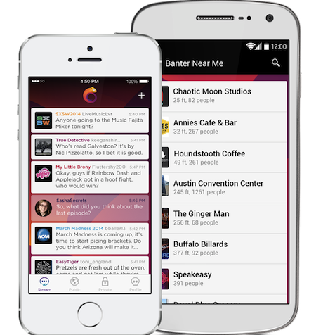 App of the Week: Banter, l'app che reinventa le chat room