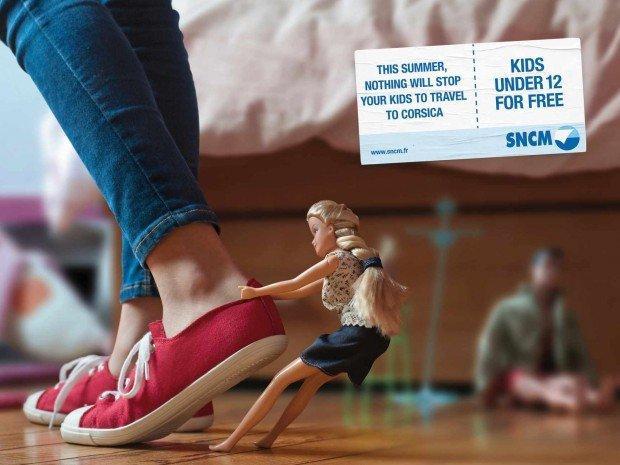 Gelato, giocattoli e adozioni: i migliori annunci stampa della settimana