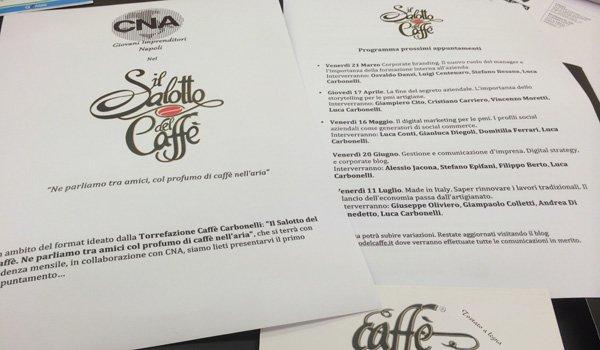 Il Salotto del Caffè a Napoli: incontri per sensibilizzare le aziende alla digitalizzazione