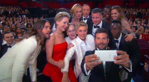 Selfie e Nomination: il colpo grosso di Samsung agli Oscar Awards
