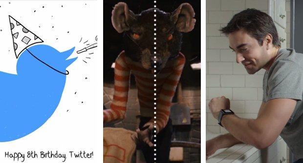 Twitter, Wes Anderson e Android Wear: i migliori video della settimana
