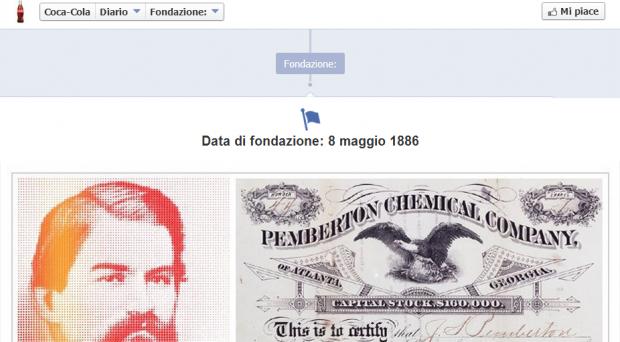 post facebook cocacola