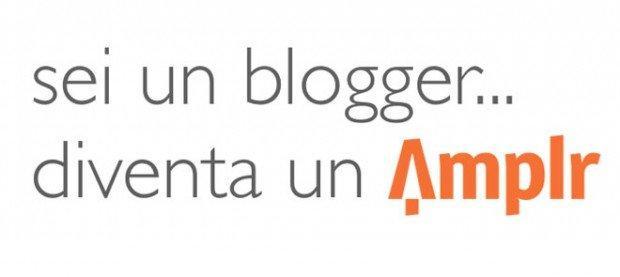 blogger diventa un amplr