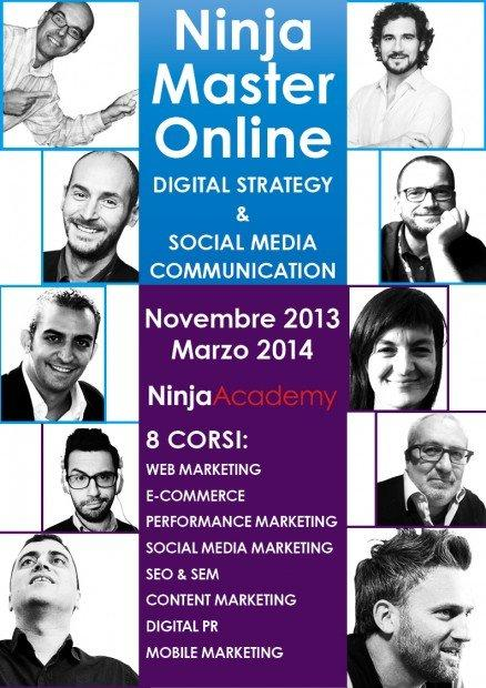 Digital Strategy e Social Media Communication: l'esperienza del Ninja Master Online