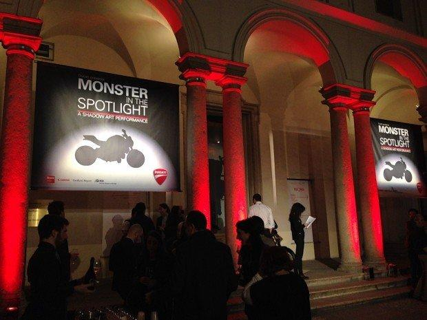 Monster in the Spotlight: l'experience Ducati per la Milano Design Week [photogallery]
