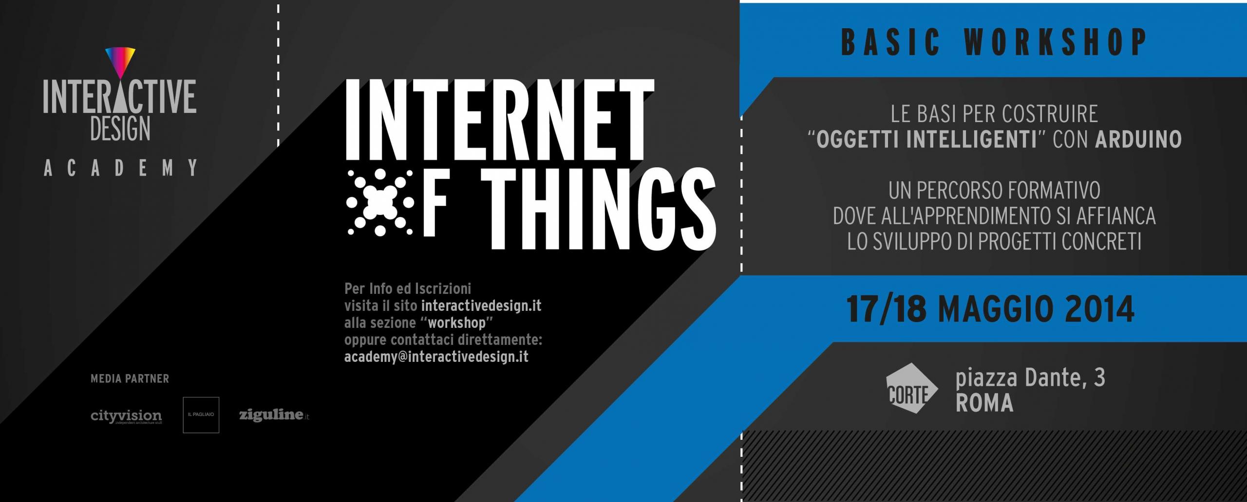 Internet of Things: a Roma il workshop dedicato agli oggetti intelligenti