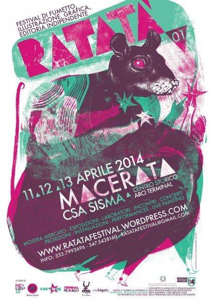 Top 10 fumetti e illustrazioni Ratatà Festival 2014