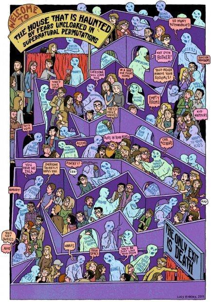 Top 10 fumetti e illustrazioni i migliori creativi della settimana Lucy Knisley
