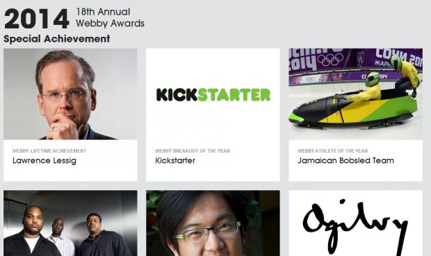 18° Webby Awards: annunciati i premi speciali della giuria per il 2014 [EVENTO]