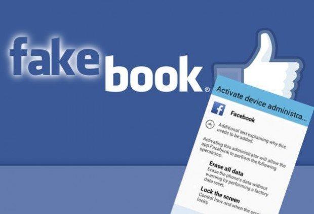 Facebook, una schermata fake minaccia i dati degli utenti