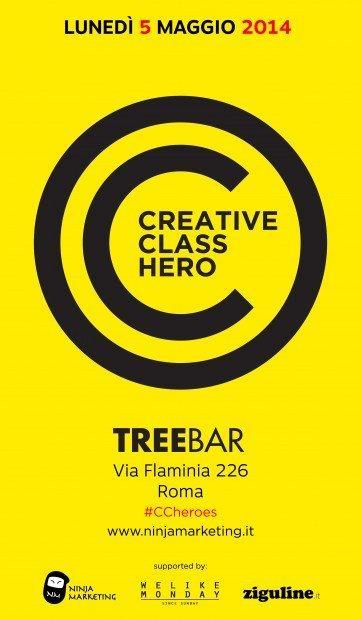 Creative Class Heroes a Roma, appuntamento al 5 maggio!