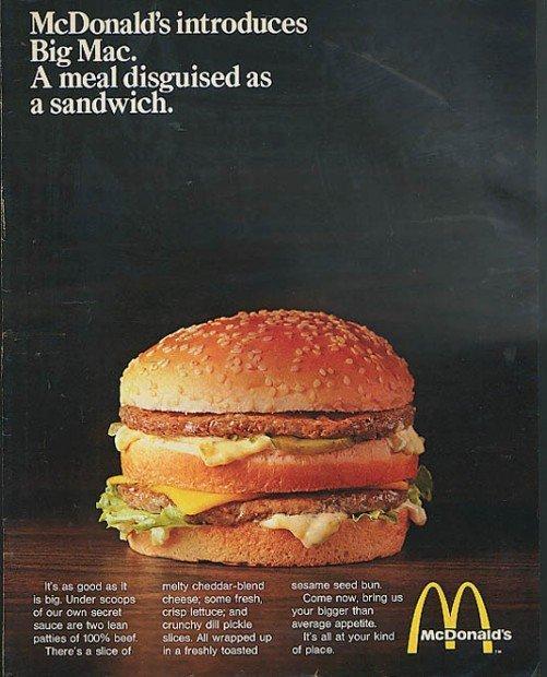 McDonald's presenta il Big Mac