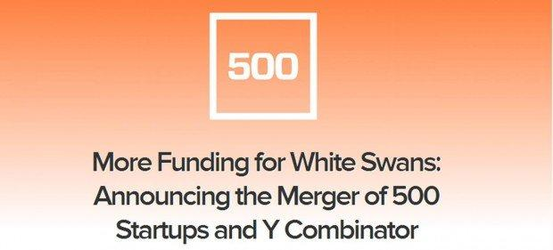 Nasce 500 Combinators dalla fusione di Y Combinator e 500 startups
