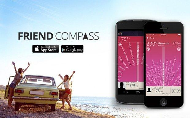 Friend Compass: l'app per volare low-cost dai tuoi amici Facebook