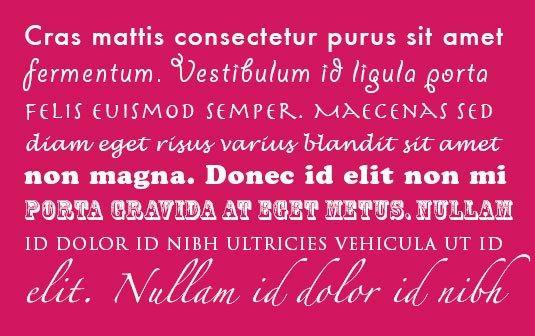Typography: 7 errori da cui un designer deve stare alla larga