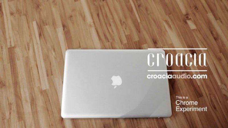 Un sito Internet da ascoltare: Chrome sperimenta Croacia Audio