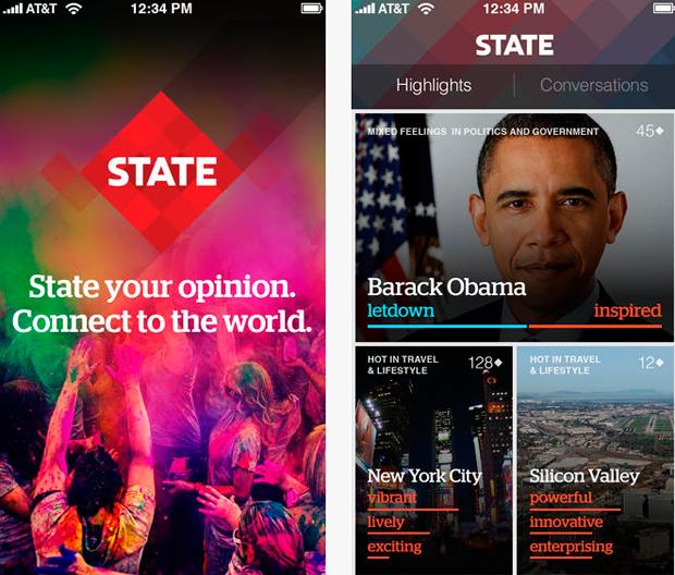 social network state app