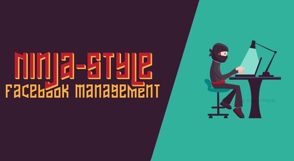 Come ottimizzare la gestione di una pagina Facebook, Ninja-style [INFOGRAFICA]